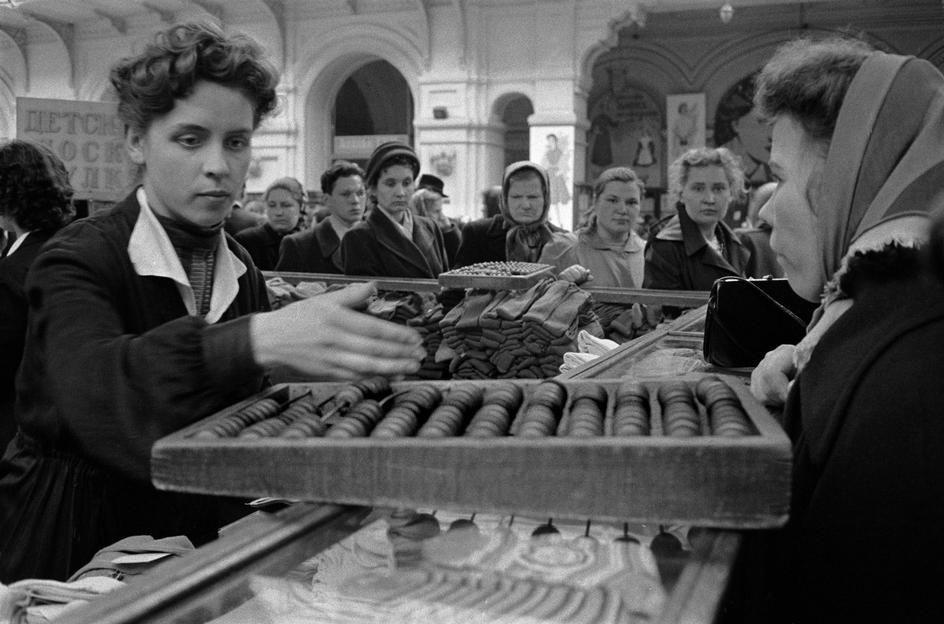 Lessing06 Москва 1958 года в фотографиях Эриха Лессинга