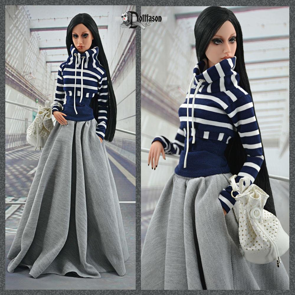 одежда для кукол, трикотаж