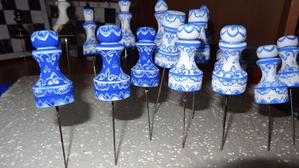 оригинальные шахматы, шахматы с рисунком