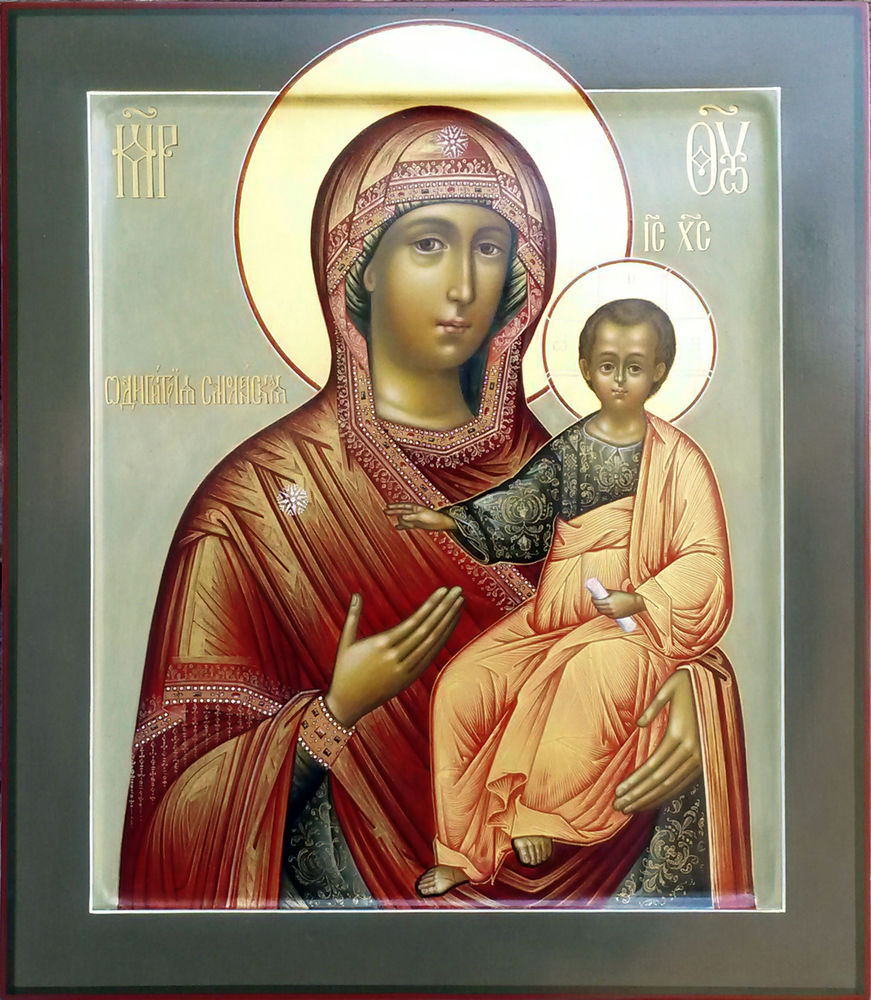 Икона одигитрия пресвятой богородицы картинки