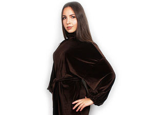 Новая коллекция универсальных бархатных платьев!. Ярмарка Мастеров - ручная работа, handmade.