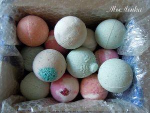 Бурлящие шары для ванной обновленная версия | Ярмарка Мастеров - ручная работа, handmade