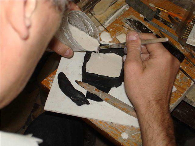 Изготовление фигур из гипса