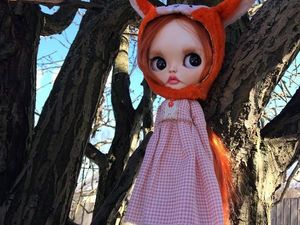 Miss Fox. New image. Custom Blythe. Ярмарка Мастеров - ручная работа, handmade.
