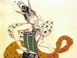 Новая эпоха театрального костюма. Л.Н. Бакст. Ярмарка Мастеров - ручная работа, handmade.