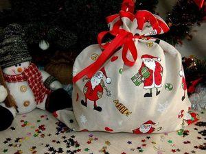 В Черную пятницу скидки на новогодние мешочки!. Ярмарка Мастеров - ручная работа, handmade.