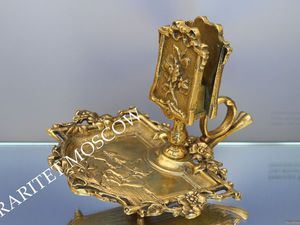 Спичечница спичечник подставка конь бронза Франция 2 | Ярмарка Мастеров - ручная работа, handmade