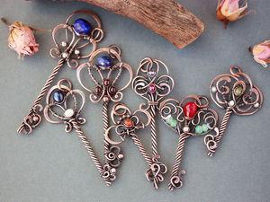 Коллекция ключиков. Ярмарка Мастеров - ручная работа, handmade.