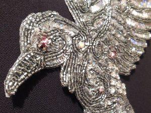 Вышивка Ворон добавлена в магазин   Ярмарка Мастеров - ручная работа, handmade