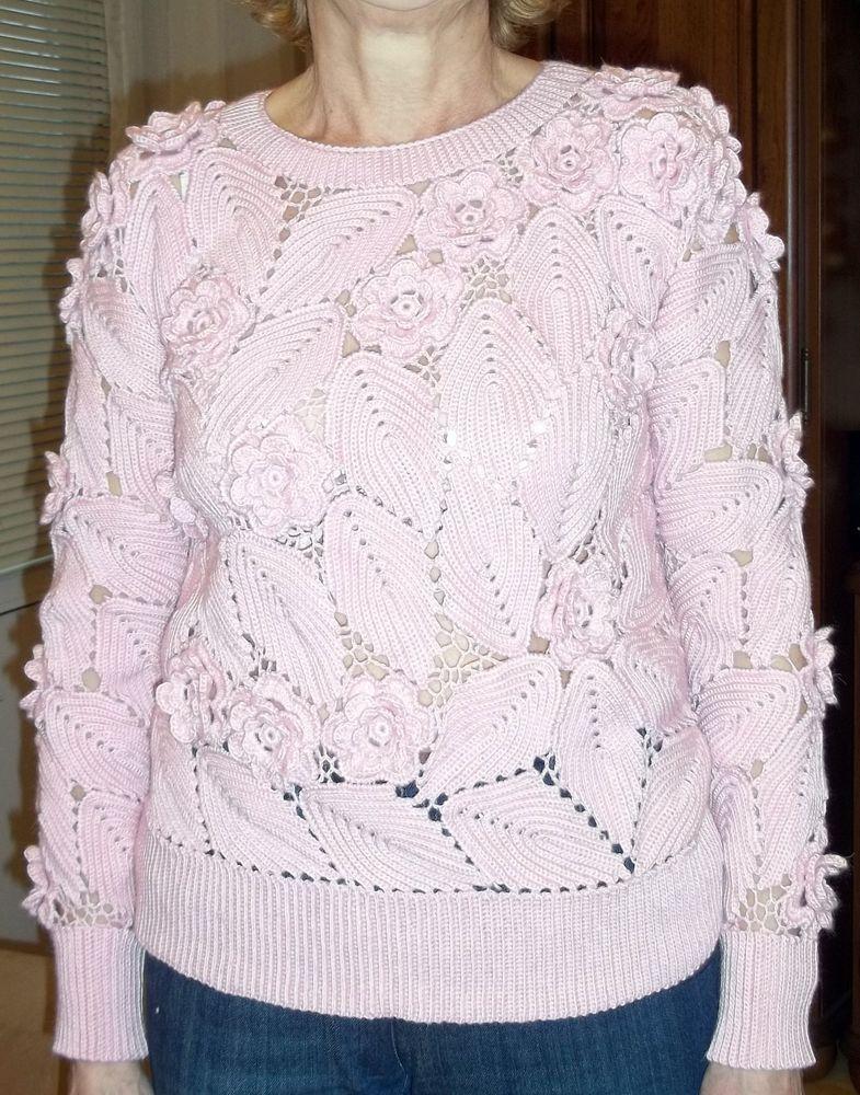 свитер, моя работа