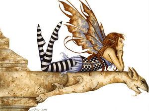 Феи и эльфы глазами художницы Amy Brown. Ярмарка Мастеров - ручная работа, handmade.