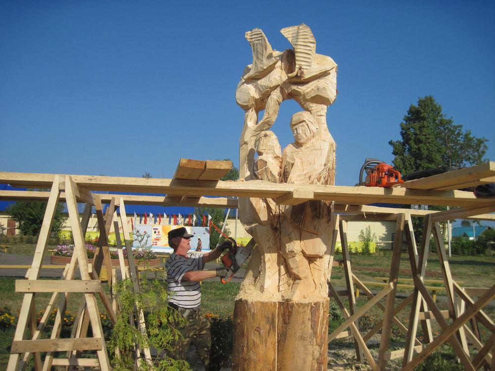 Об участии в международном фестивале деревянной скульптуры., фото № 15