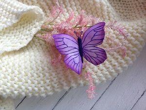Создаем бабочку из фоамирана. Ярмарка Мастеров - ручная работа, handmade.