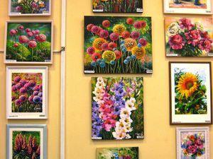 Выставка моих картин открылась сегодня | Ярмарка Мастеров - ручная работа, handmade
