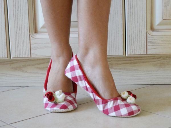 Тапочки на ножках! | Ярмарка Мастеров - ручная работа, handmade