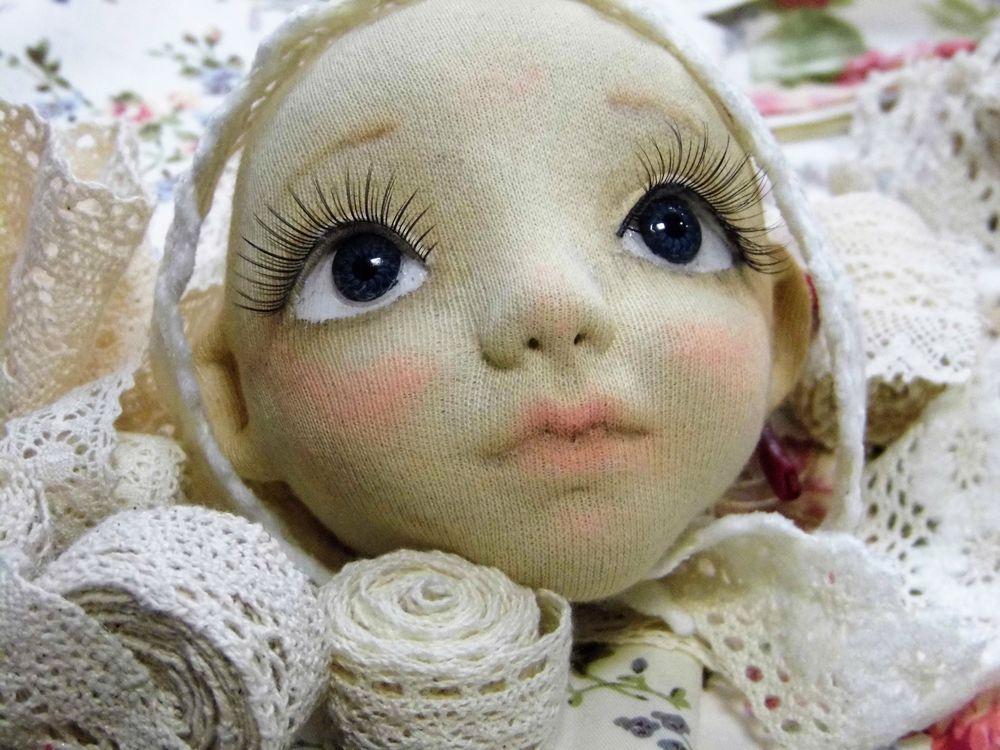 текстильные куклы, лицо
