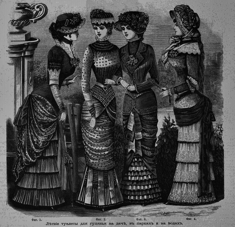 Восхитительная мода конца ХIХ века, фото № 24