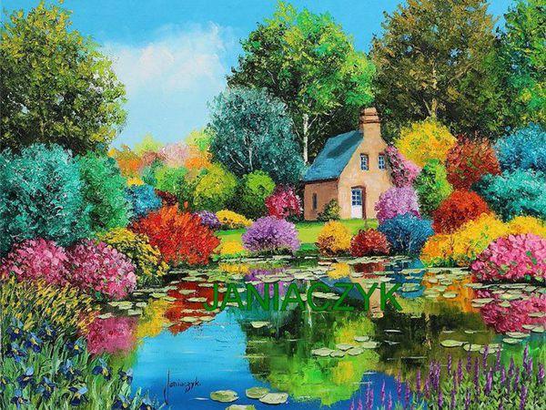 Как выбрать картину для интерьера? Тема или цветовое решение?   Ярмарка Мастеров - ручная работа, handmade