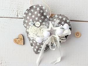A Fabric Heart with Your Own Hands. Livemaster - handmade