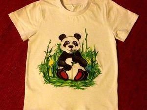 футболка к лету со скидкой) | Ярмарка Мастеров - ручная работа, handmade