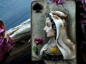 """Анонс новой работы. Колье """"Regina Ligones"""" скульптурная миниатюра. Ярмарка Мастеров - ручная работа, handmade."""