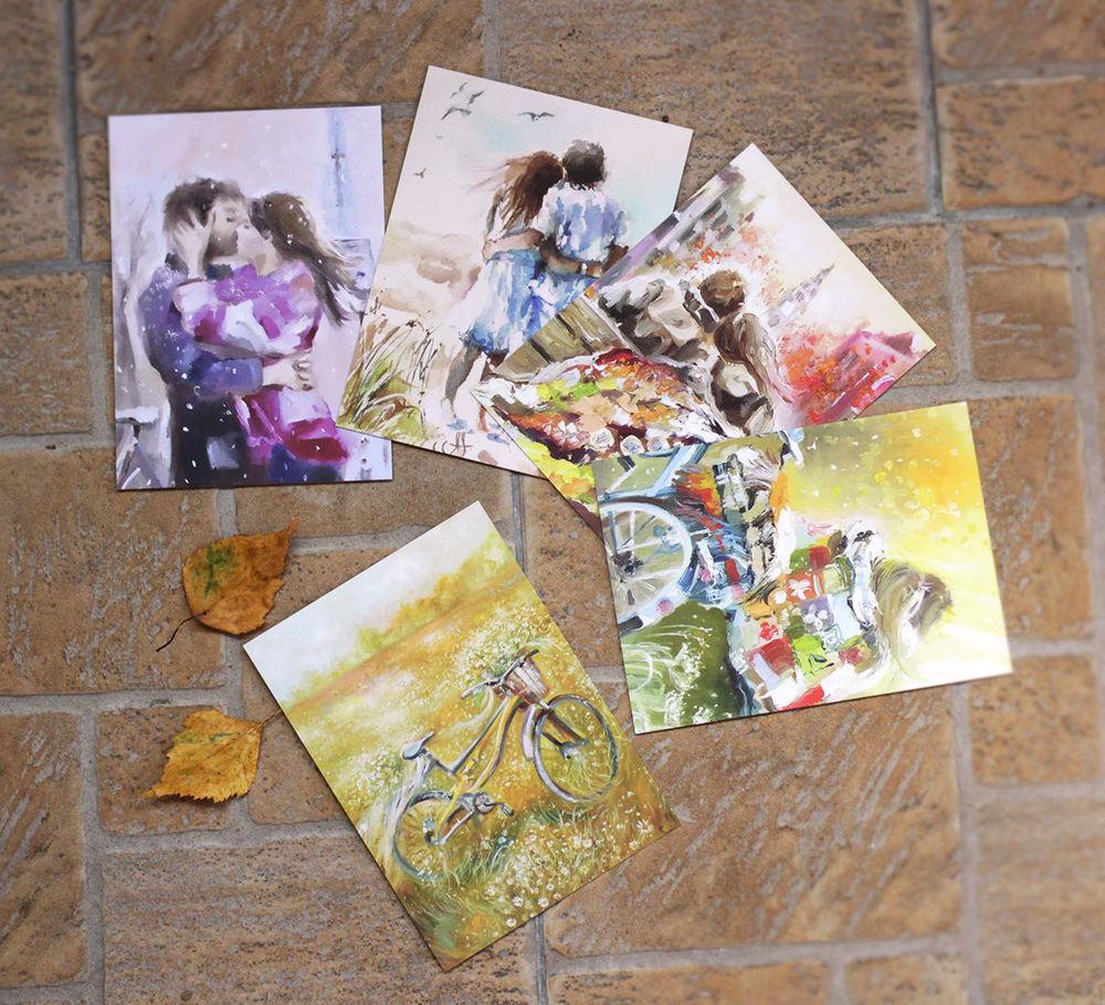 посткроссинг, красивые открытки