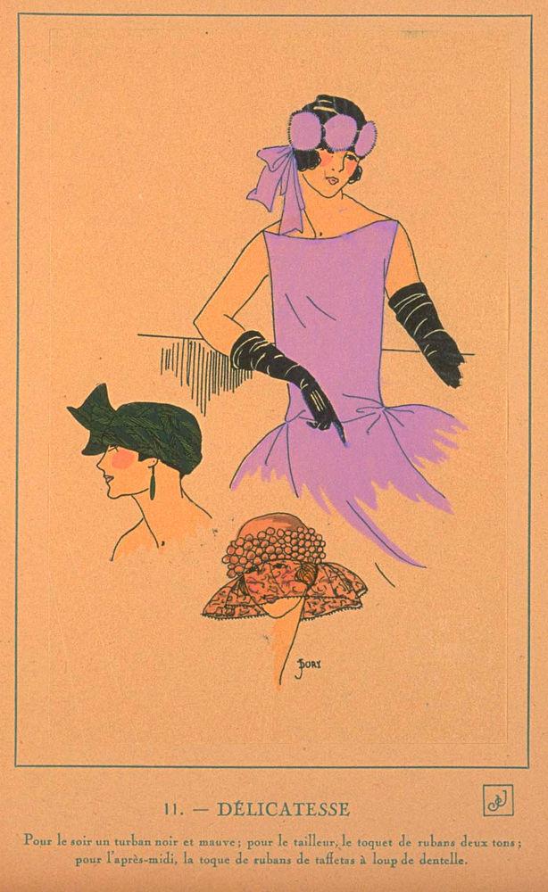 Ах, какие шляпки! Шляпная мода 1922 года по версии французского журнала «Les chapeaux du Tres parisien». Часть 2, фото № 13