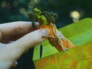 Морковушка отправилась  в путь :) | Ярмарка Мастеров - ручная работа, handmade