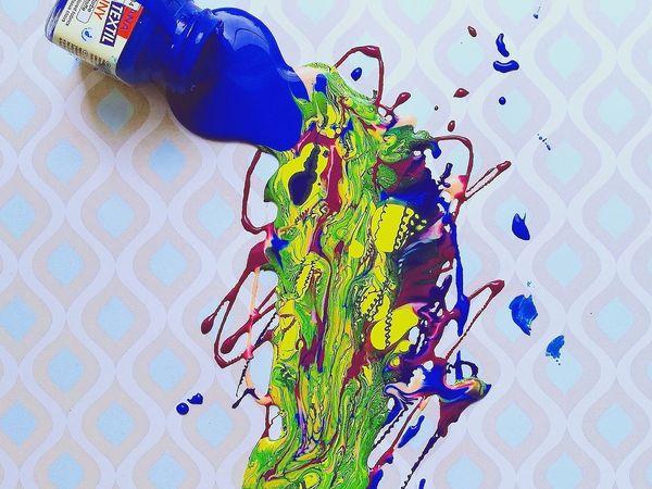 Краски по ткани | Ярмарка Мастеров - ручная работа, handmade