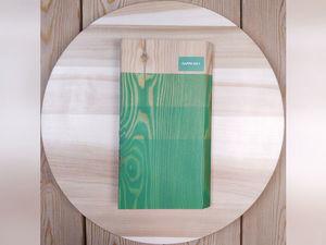 Видеокаталог цветных масел для дерева GAPPA. Цвет 0021 — Зеленый матовый. Ярмарка Мастеров - ручная работа, handmade.