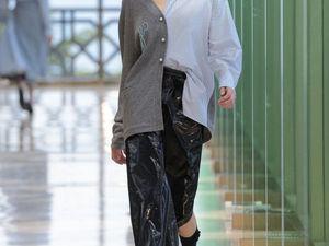 Сочетание материалов в коллекциях осень-зима 2017/2018. Ярмарка Мастеров - ручная работа, handmade.