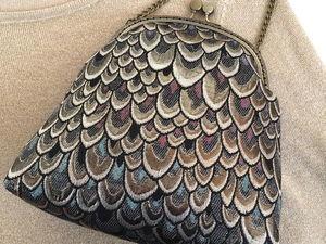 """Снова в наличии! Маленькая сумочка """"Редкая Птица"""". Ярмарка Мастеров - ручная работа, handmade."""