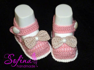 Вяжем пинетки-туфельки для принцессы: видеоурок. Ярмарка Мастеров - ручная работа, handmade.