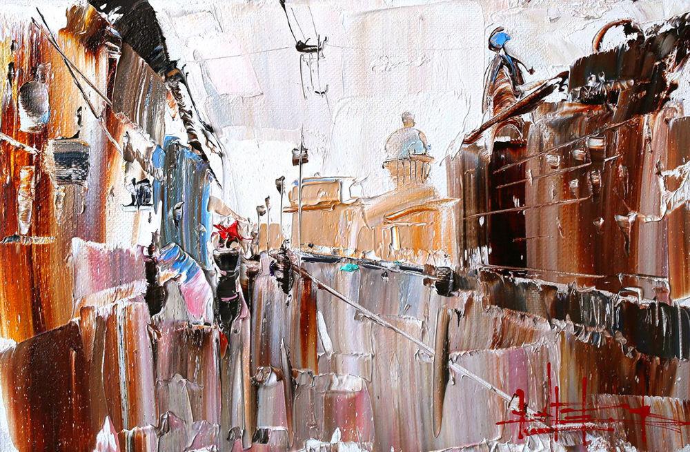 Konstantin Sukhopluev: Artist Painting Rain, фото № 15