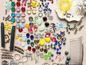 Розыгрыш огромного набора для создания украшений!. Ярмарка Мастеров - ручная работа, handmade.