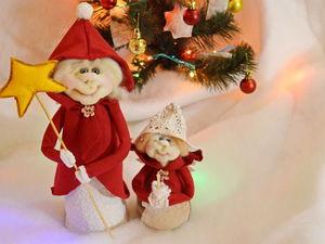 Шьем рождественских ангелов: видео мастер-класс. Ярмарка Мастеров - ручная работа, handmade.
