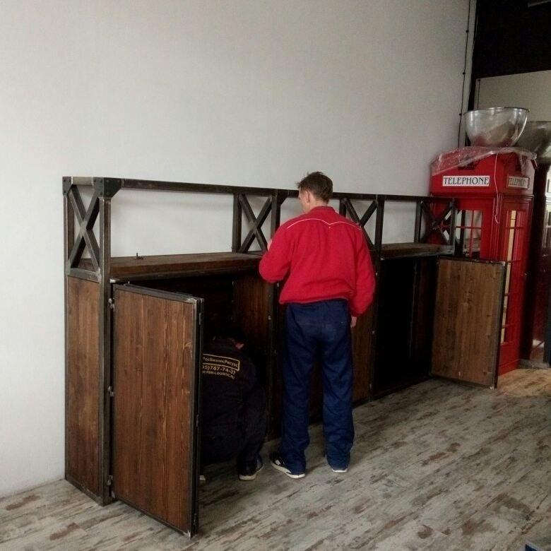 стеллаж лофт, стеллажи лофт на заказ, мебель лофт на заказ, в стиле лофт