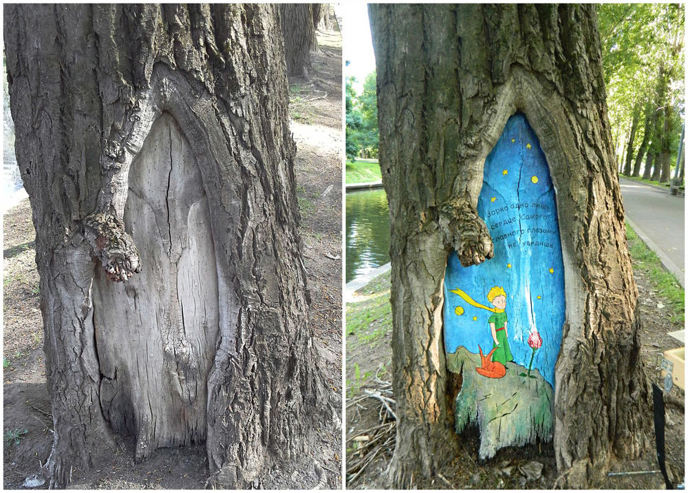 роспись по дереву