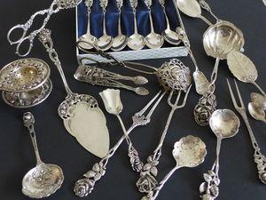 Огромные скидки на столовое серебро. Ярмарка Мастеров - ручная работа, handmade.
