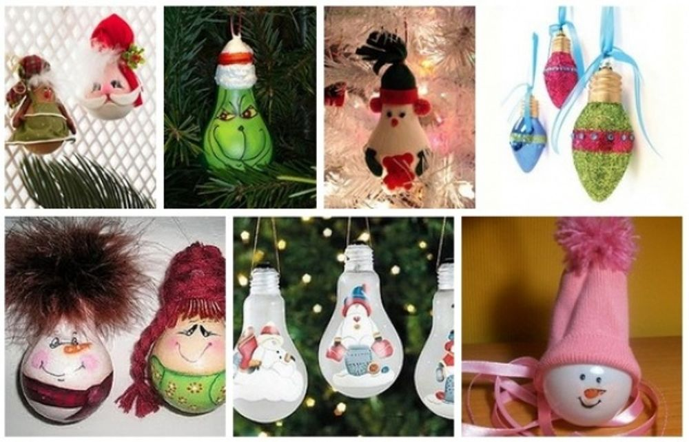 Christmas Decorations from Recycled Materials, фото № 6