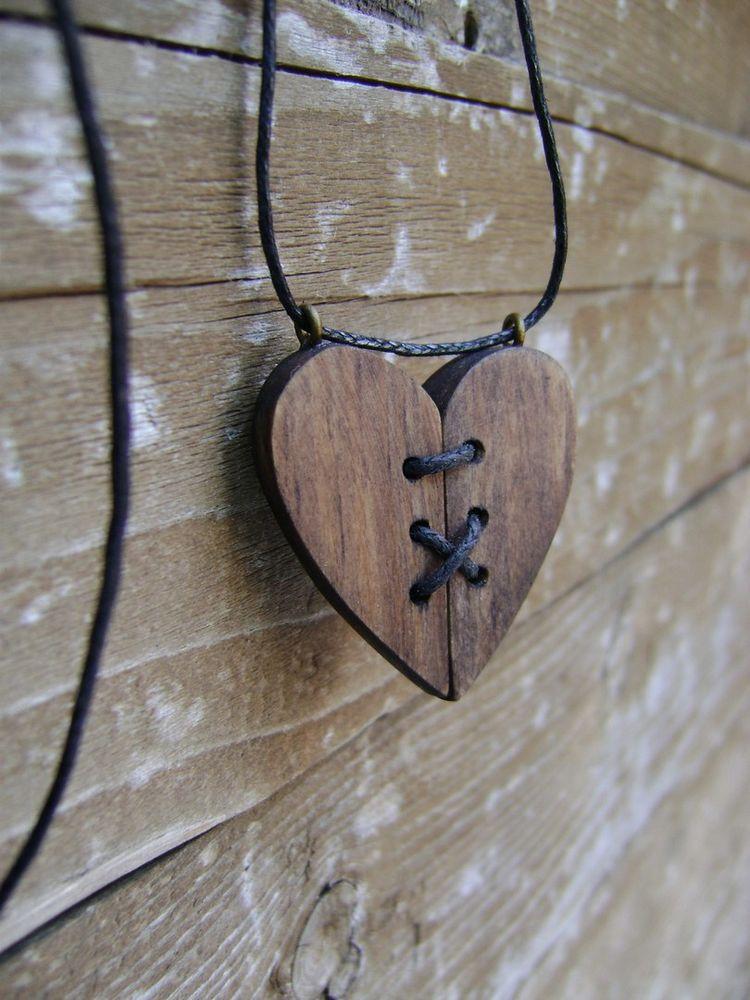 украшения из дерева, подарок для любимой
