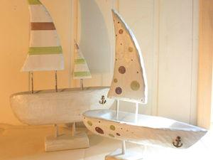 Изготавливаем интересное украшение для интерьера — кораблики. Ярмарка Мастеров - ручная работа, handmade.
