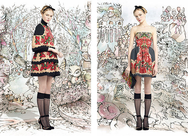 Red Valentino Autumn-Winter Ready-to-Wear 2013/14