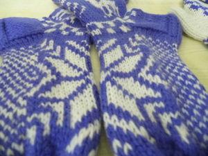Фотоотчет носки с оленями фиолетовые. Ярмарка Мастеров - ручная работа, handmade.