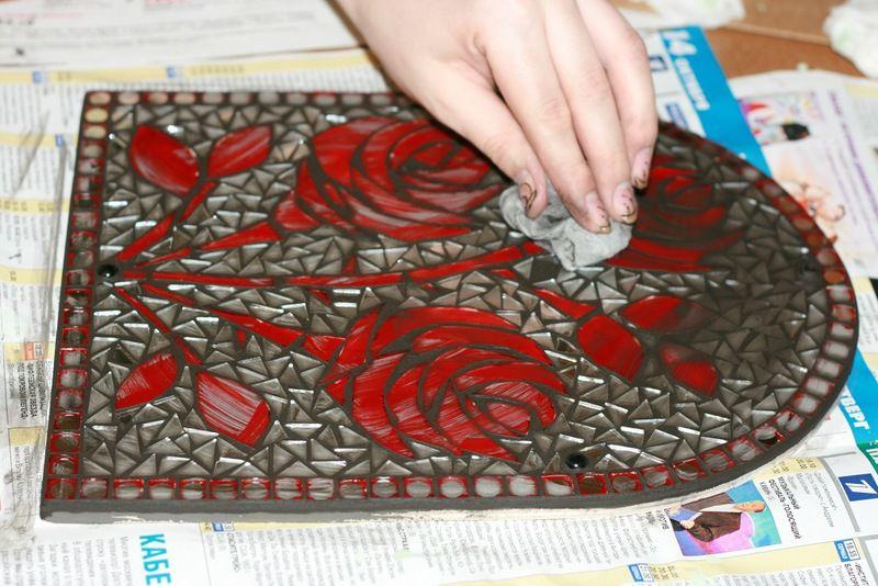 Мозаика своими руками технология изготовления
