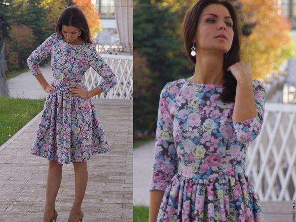 Аукцион на джинсовое платье!! Старт 1500 рублей !!! | Ярмарка Мастеров - ручная работа, handmade