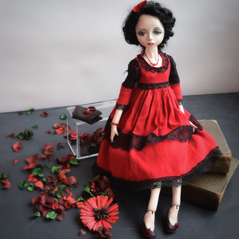 кукла, декор