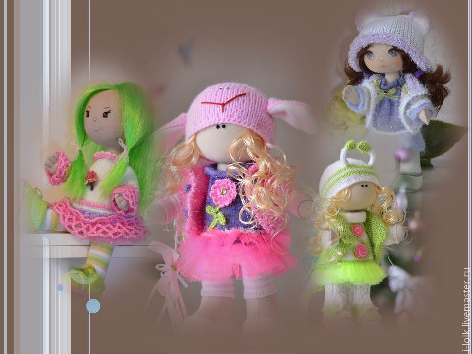 Куколка- милашка сделано своими руками