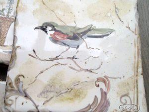 Роспись плитки Фрески | Ярмарка Мастеров - ручная работа, handmade