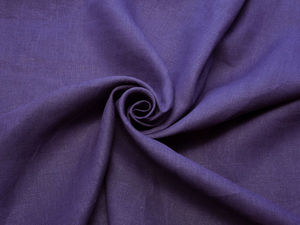 200руб./п.м. Лён 100% тёмно-фиолетовый арт.533 оптом:. Ярмарка Мастеров - ручная работа, handmade.